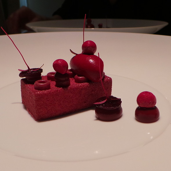 Lego, Beetroot, Spiced Milk @ Amador