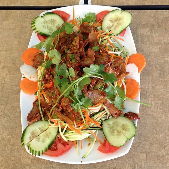 Lemongrass Chicken Satay at Veggie Today