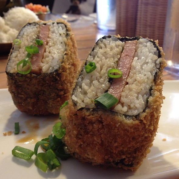 Deep Fried Spam Musubi @ Da Kitchen