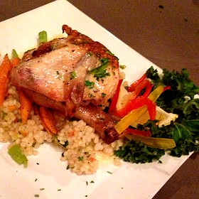 Spit Roasted Chicken And Couscous