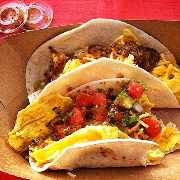 Migas Breakfast Taco @ Torchy's Tacos