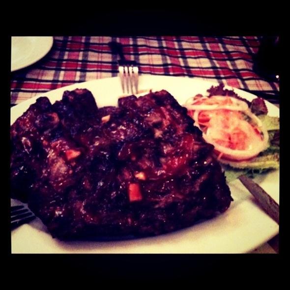 BBQ ribs @ Texas BBQ