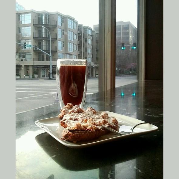 Twice Baked Strawberry Streudel @ Café Cesura