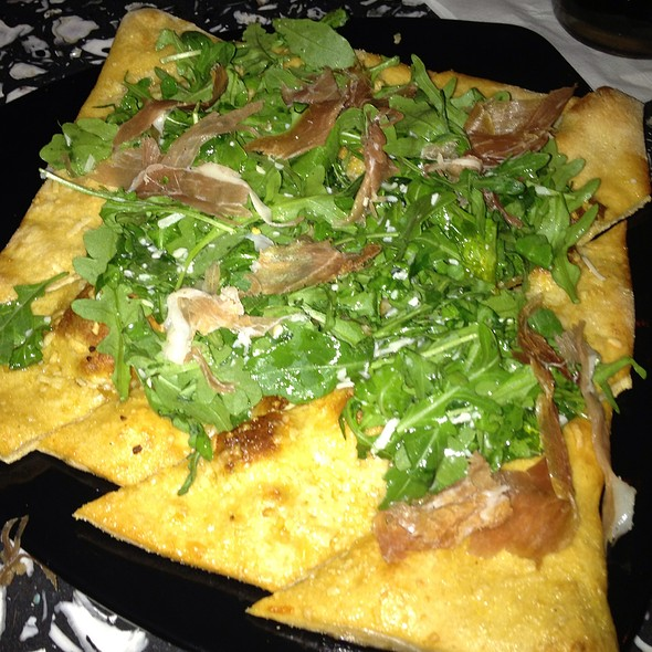 Prosciutto And Arugula Flatbread @ Mellow Mushroom Avondale