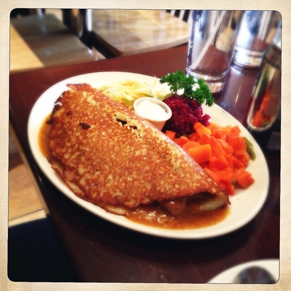 Potato Pancake W/ Goulash