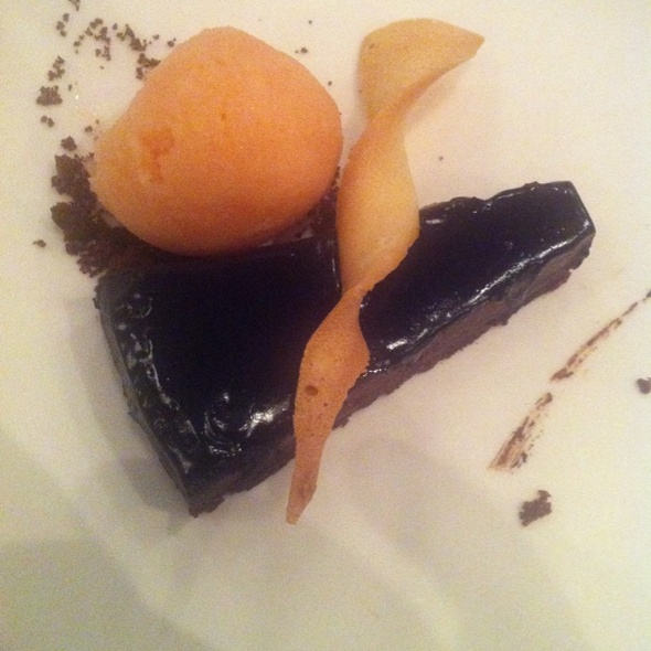 Chocolate & Sherry Torte @ Kopapa