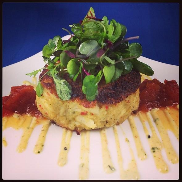 Jumbo Lump Crab Cake @ Pelagia Trattoria Tampa Restaurant