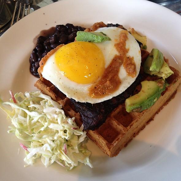 Skirt Steak and Eggs @ Ad Hoc