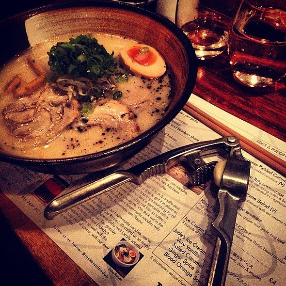 Having for the first time in ever! @ Tonkotsu