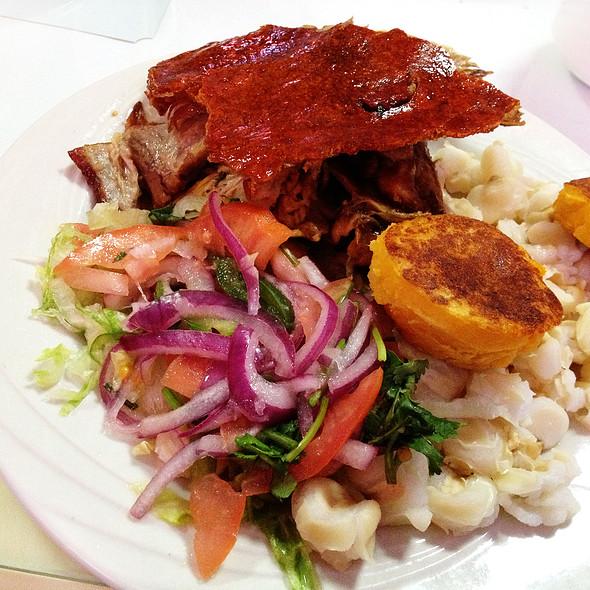 Image gallery hornado for Achiote ecuador cuisine