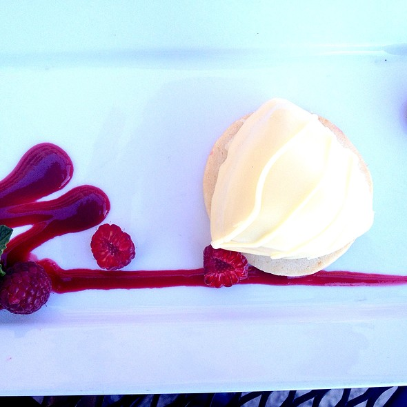 white chocolate cheesecake - Signature Grill at the JW Marriott Starr Pass Resort & Spa, Tucson, AZ