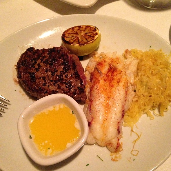 Lobster Tail & Filet Mignon - Fleming's Steakhouse - Beverly Hills