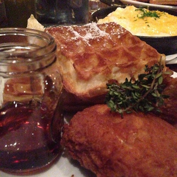 Fried Chicken and Waffles - FarmerBrown, San Francisco, CA
