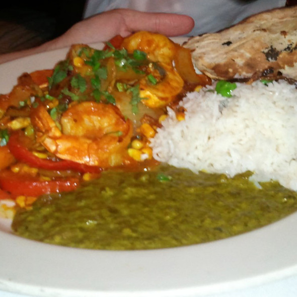 Shrimp Bhuna Ambassador Dining Room