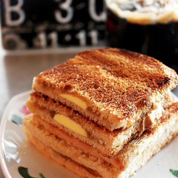 Kaya Toast And Iced Kopi @ QQ Kopitiam