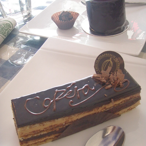 Opera Cake @ Philippe's Chocolates