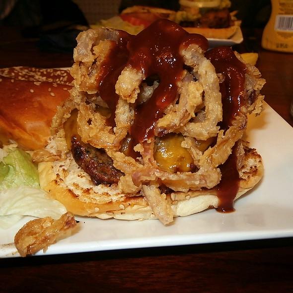 Texas Burger @ Mad café