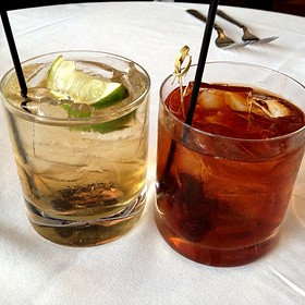 Southern Mule And Top Shelf Manhattan