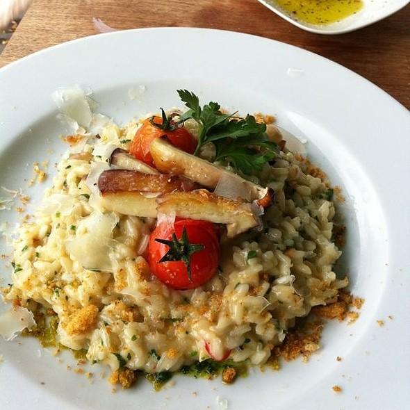 mushroom risotto @ Gaststätte Bar Olio