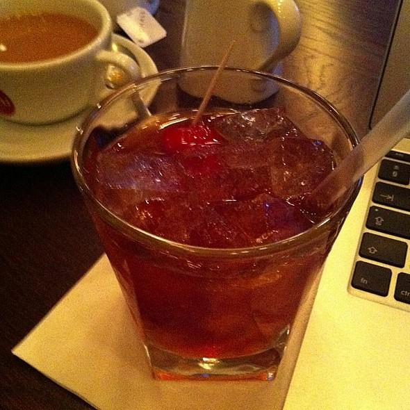 Dark rum old fashioned @ Harrison's