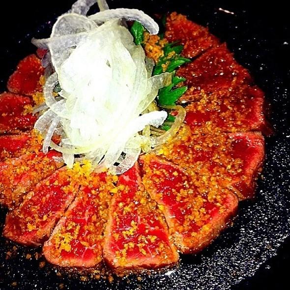 Beef Tataki With Onion @ Irori