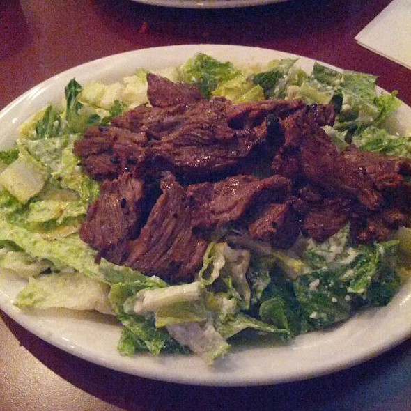 Steak Tips Caesar Salad @ Conrad's