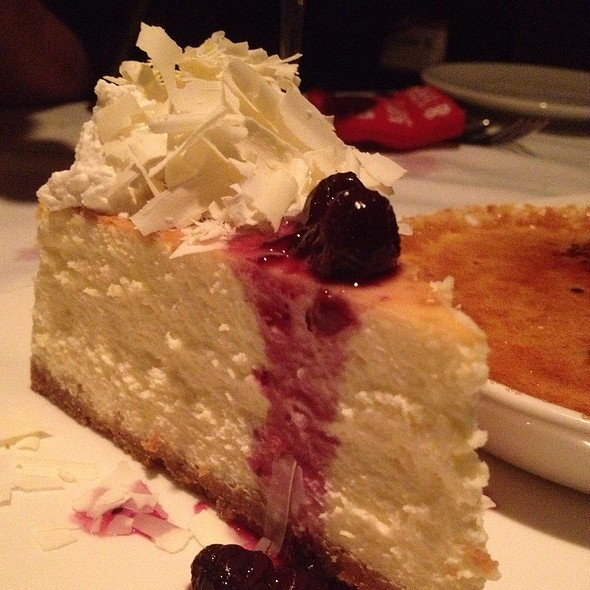 Cheesecake - Fleming's Steakhouse - Beverly Hills, Beverly Hills, CA