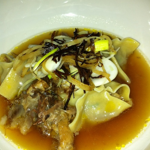 Braised Oxtail Dumplings @ Momofuku Ssam Bar