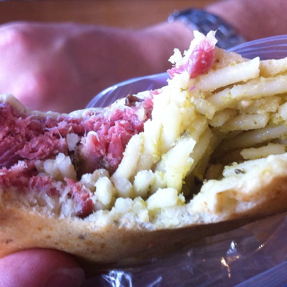 Herb Focaccia Pocket Sandwich @ Northstar at Tahoe