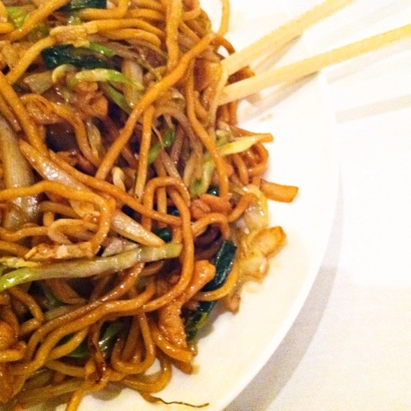 Chicken Chow Mein - Dragon Noodle Co. - Monte Carlo, Las Vegas, NV