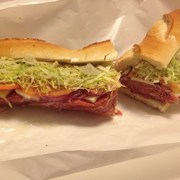 Sandwich With Capocollo, Prosciutto, Soperssata, Sharp Provolone, Lettuce, Tomatoes, Onions, Oil & Vinegar - Buon Appetito - New Jersey, Bayonne, NJ