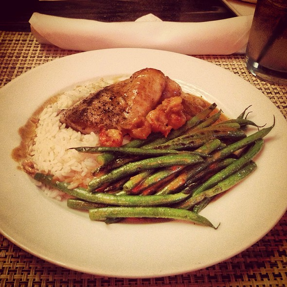 Sauteed Redfish W/ Crawfish Rice - MiLa, New Orleans, LA