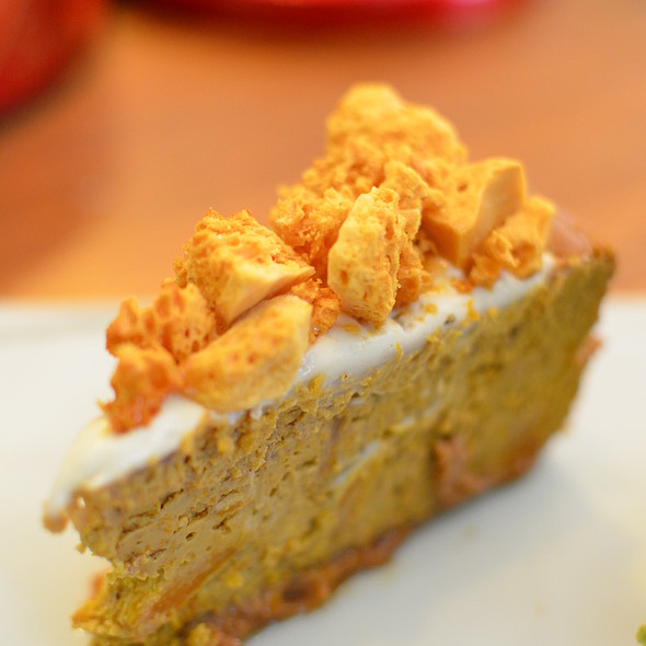 Old Beijinger Pumpkin Cheesecake @ Teakha