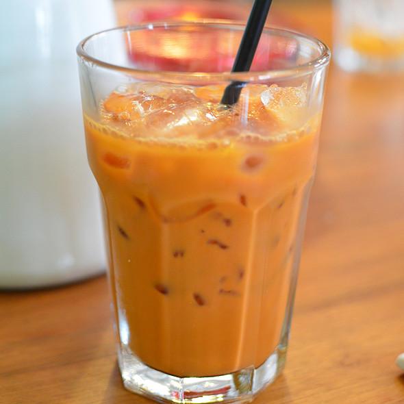 Thai Iced Tea @ Teakha