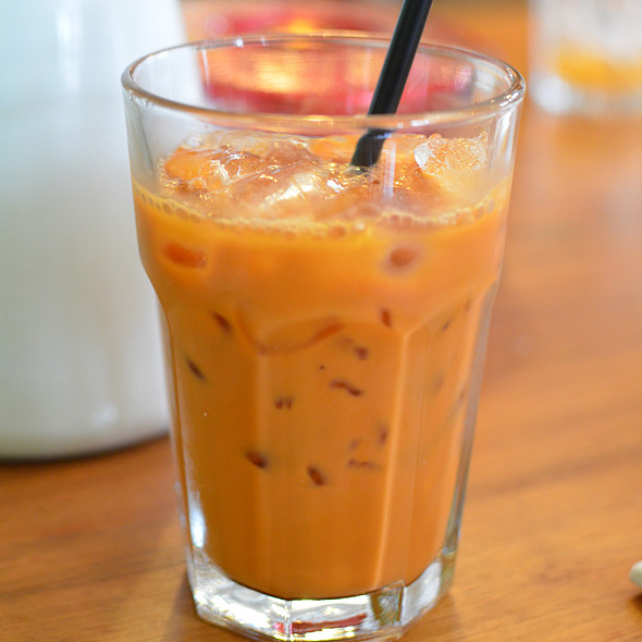Thai Iced Tea @ Teakha