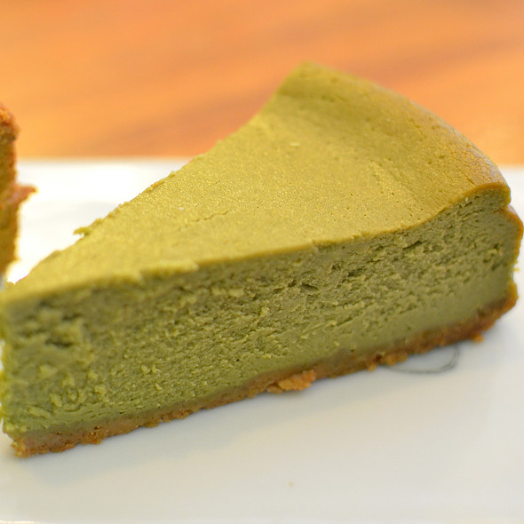 Green tea cheesecake @ Teakha