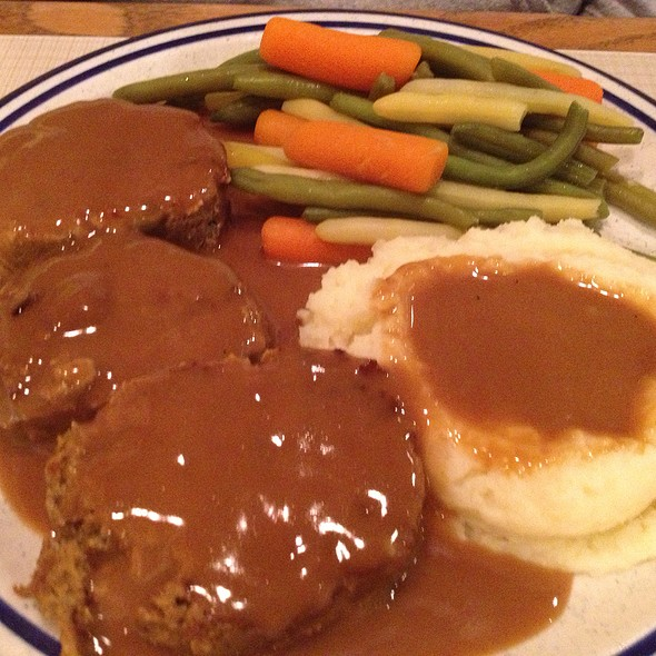 Meatloaf @ First Street Family Restaurant