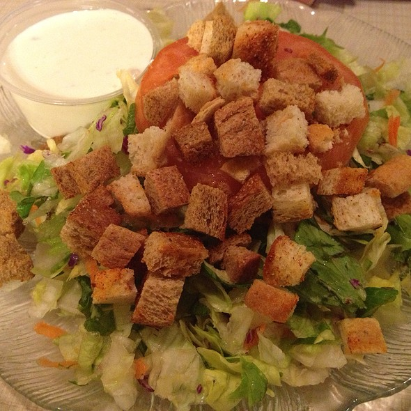 Side Salad @ First Street Family Restaurant