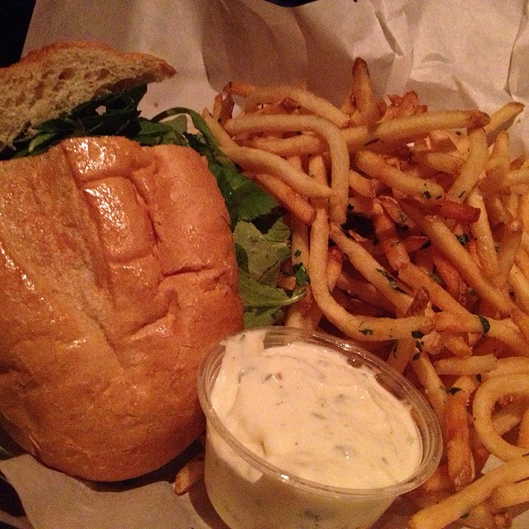 Burger & Fries @ Father's Office