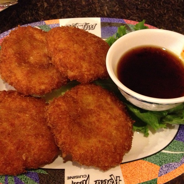 Shrimp Cakes @ Krua Thai Restaurant