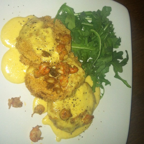 Fried Green Tomatoes @ Postmasters Grill