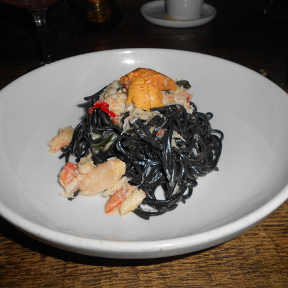Squid Ink Pasta with Lobster - Balena Italian - Temporarily Closed, Chicago, IL