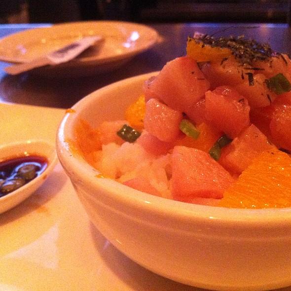 Hamachi Rice Bowl