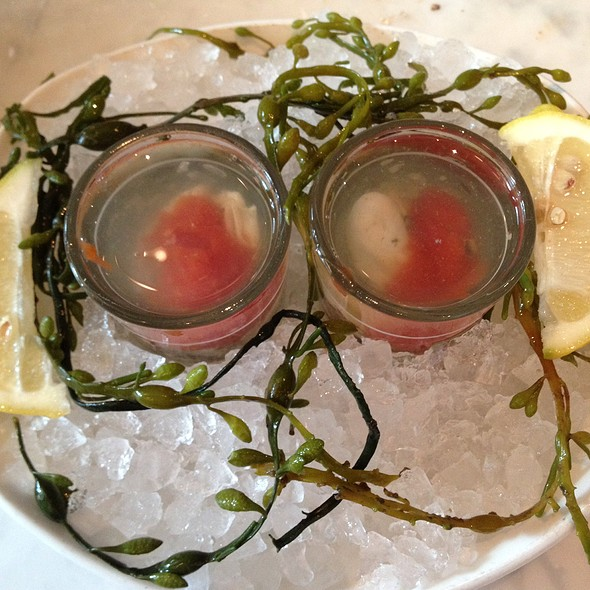 Oyster Shooters - The Pub - Aria, Las Vegas, NV