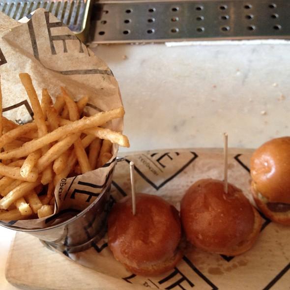 Sliders And Skinny Fries - The Pub - Aria, Las Vegas, NV