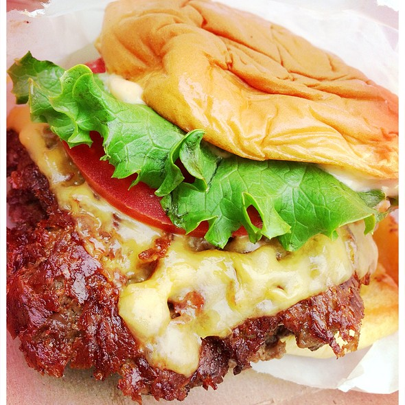 Double Shack Burger @ Shake Shack