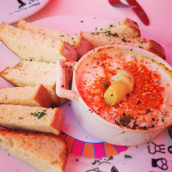 Hot Crab & Artichoke Dip @ Serendipity 3