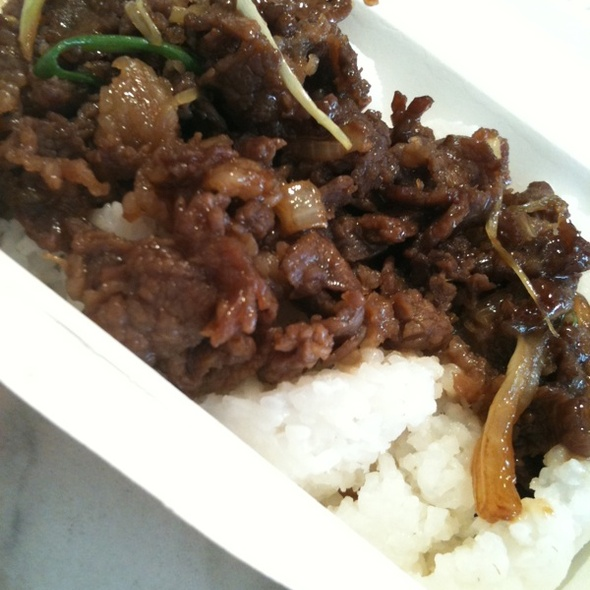 Bulgogi Rice @ BonChon Chicken