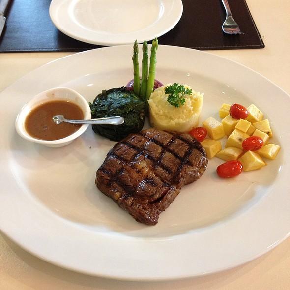 Ausie Rib Eye Steak @ Le Casbah by Ted's