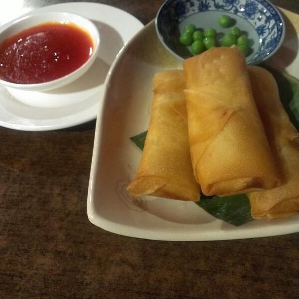 Vegetarian Spring Rolls @ Obsession Restaurant & Bar
